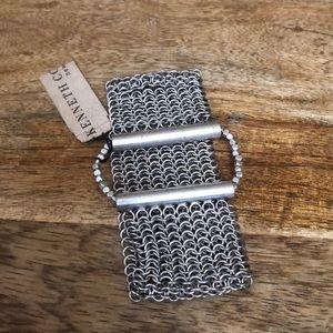 ⭐️ NWT Kenneth Cole Silver Tone Chain Bracelet ⭐️